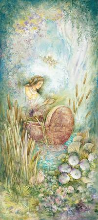 Miriam in the Bulrushes