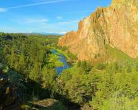 Three Sisters From Smith Rock State Park