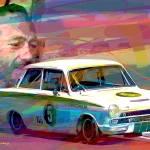 """""""Colin Chapman Lotus Cortina"""" by DavidLloydGlover"""