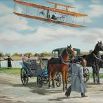"""Wilbur Wright in France"" by KenYoung"