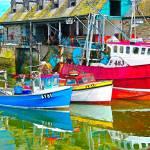 """Three Boats Waiting"" by michaelbond"