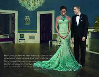 Michelle & barack in the White House