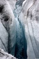 One of the many holes on Yanert glacier - this one