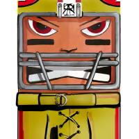 Squared 49er Art Prints & Posters by Ray Arcadio