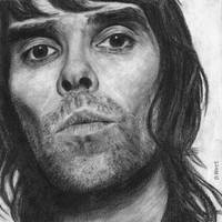 Ian Brown Pencil Drawing