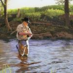 """The Fly Fisherman"" by KenYoung"