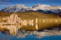 Mono Lake Mountain Reflections