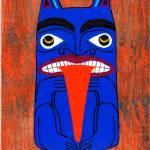 """Haida Totem"" by LimeCreekArt"