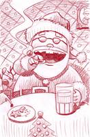 Santa's Break for the night