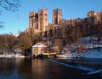 Durham Cathedral Snow I