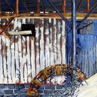 InsideOutbuilding#3 Art Prints & Posters by John Holland