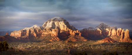 Capitol Butte in West Sedona at Sunset