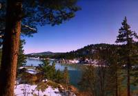 Snow at Big Bear Lake