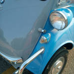 """BMW Isetta 300 Headlamp"" by sondrasula"