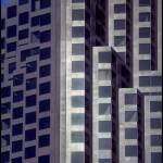"""Bank of America Building Abstract"" by worldwidearchive"