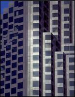 Bank of America Building Abstract by WorldWide Archive