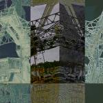 """Mystic River Bridge CT Photoillustration"" by Leyland"