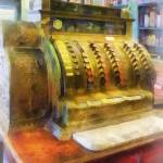 """Cash Register in Pharmacy"" by susansartgallery"