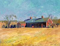 New England Barn, by RD Riccoboni