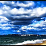 """Sky+Seascape Wideview"" by waynelogan"