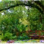 """""""Tropical Watercolor Sketch 2"""" by lisaarundale"""