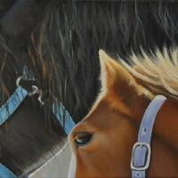 With Big Buddy Art Prints & Posters by Carole Rodrigue