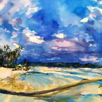 Manzanilla Art Prints & Posters by Marsha Trepte
