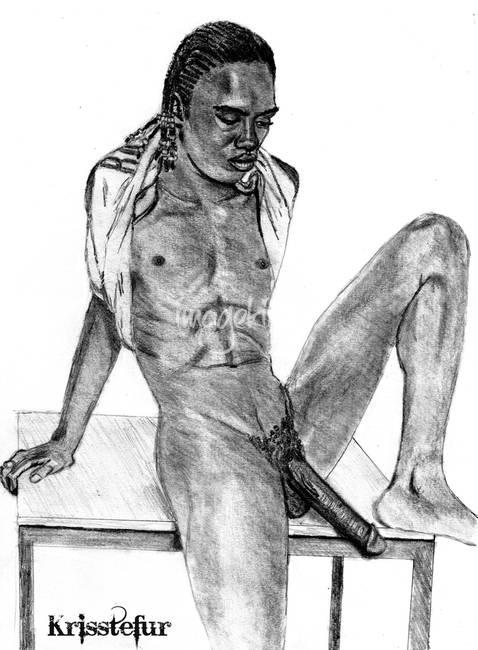 Hung Ebony Gay 100
