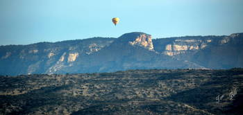 Sedona AZ Buttes and Balloons 0394