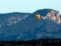 Sedona AZ Buttes and Balloons 0414