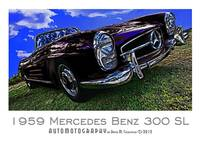 1959 Mercedes Benz 300 SL - Black