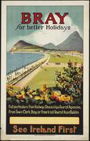 Bray Ireland Vintage Travel Poster Ad Retro Prints