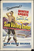 Sking Sun Valley Vintage Travel Poster Ad Retro Pr