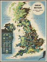 Great Britain Vintage Travel Poster Ad Retro Print