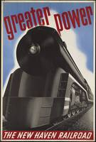 New Haven Rail Vintage Travel Poster Ad Retro Prin