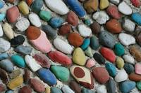 Angled Painted Rocks
