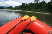 Paddles on a Rubber Raft
