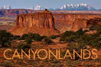 Canyonlands with Caption