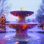 """""""Holiday Fountain"""" by katbesthorn"""