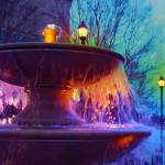 """""""Holiday Fountain 2"""" by katbesthorn"""