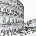 """""""Rome Coliseum 1"""" by"""