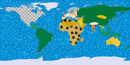 World Texture Map