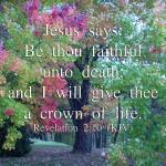 """""""Be Faithful Unto Death (2)"""" by ethought"""