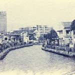 """Street view on Malacca River"" by oceansong04"