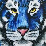 """Blue Tiger"" by tessa-gallery"