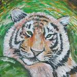 """Resting Tiger"" by tessa-gallery"