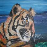 """The Tigers Gaze"" by tessa-gallery"