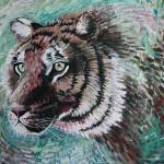 """Tiger Emerging"" by tessa-gallery"