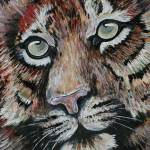 """Tiger Close-up"" by tessa-gallery"