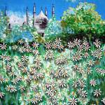 """Daisies by the Palace"" by tessa-gallery"